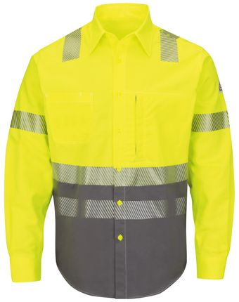 bulwark-fr-hi-visibility-shirt-slb4-color-block-uniform-yellow-green-front.jpg