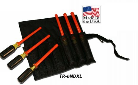 Cementex TR-6ND Insulated Nut Driver Set, 6PC