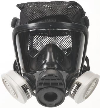 MSA Advantage Full Mask Respirator 4200 Assembled