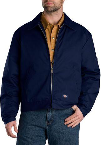 Dickies Men's Outerwear - Lined Eisenhower Jacket TJ15 - Dark Navy