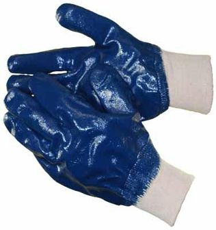 nitrile coated gloves heavy full hc2501