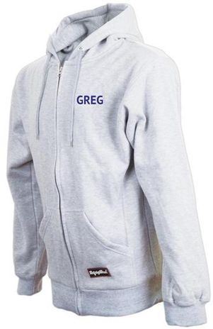 RefrigiWear Cold Weather Apparel - Thermal Sweatshirt 0487 - Gray