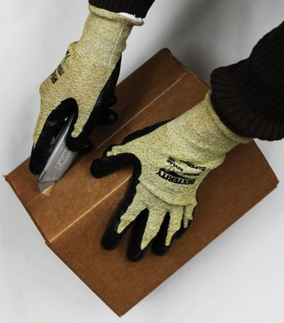 Superior Reinforced Kevlar Safety Gloves S13KFGFNT with Foam Nitrile Palms - Cutting