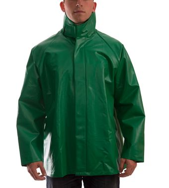Tingley J41008 Safetyflex® Fire Resistant Jacket - PVC Coated, Chemical Resistant, with High Collar Front