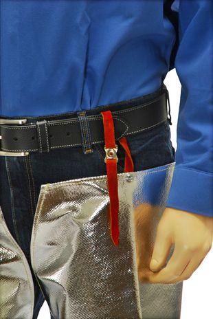 Otterlayer aluminized leggings hip strap detail LV4-ACF