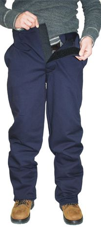 CPA 12 Cal Arc Flash Overpants SWP-12 - Front Adjustment