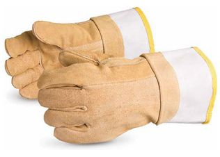 Superior MIG / TIG Welders Gloves Brown Devil High Radiant Heat