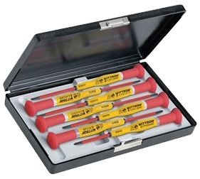 Knipex Tools Insulated Precision Screwdriver Set in Plastic Case 9T 89367