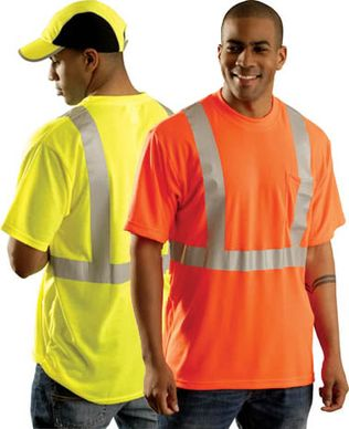 Occunomix OccuLux T-Shirt - LUX-SSTP2 - Hi-Vis Ultra Cool Wicking