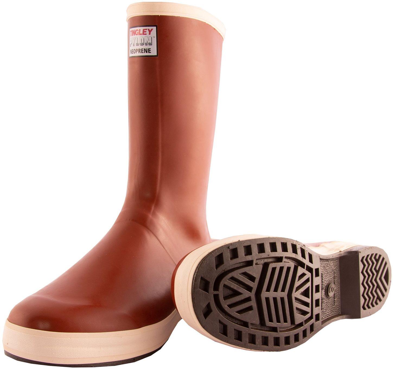 "Tingley MB920B Neoprene Work Boots - Premium, 12 1/2"" Tall, Chevron Outsoles"