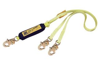 DBI Sala 1240406 EZ Stop II Twin-Leg Shock-Abzorbing Lanyard from Capital Safety
