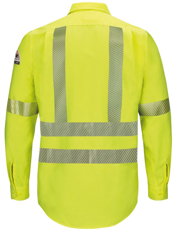 bulwark-fr-hi-visibility-shirt-qs40-hv-iq-series-endurance-yellow-green-back.jpg