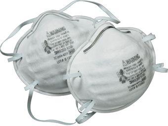 3M Disposable Respirators 8200, Economy