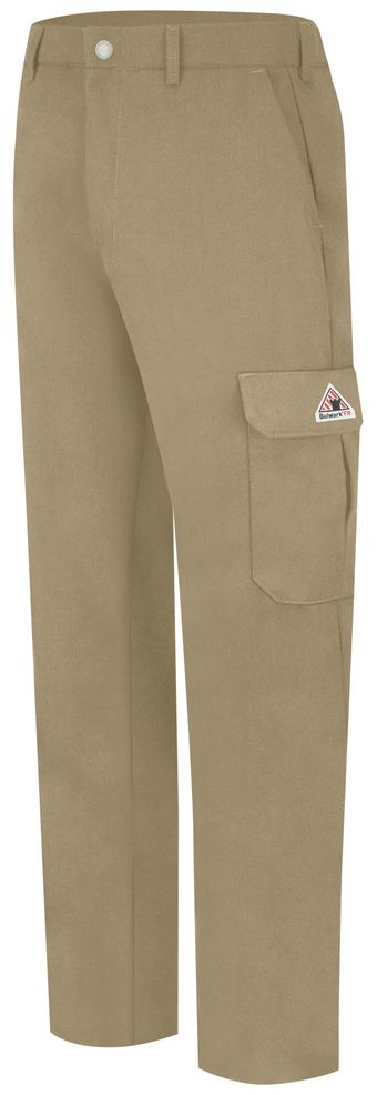 bulwark-fr-cargo-pants-pmu2-lightweight-khaki-front.jpg