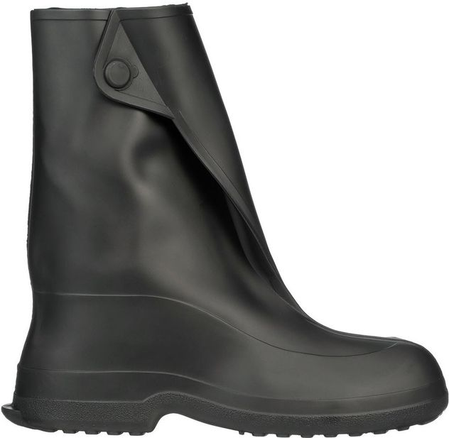 """Tingley 1450 Ice Traction Rubber Overboots - 10"""" Tall with Steel Spikes Side"""