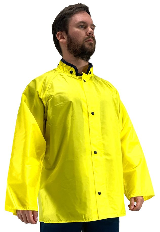 Tingley J21207 Eagle™ Water Repellant Jacket - Polyurethane Interior, with Hood Snaps Front