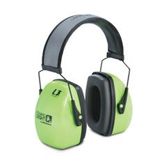 Howard Leight Leightning Hi-Visibility L3HV Ear Muffs, 1013941