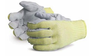 Superior Emerald CX SKWCPLP Kevlar/Stainless Steel/Polyester Lined Leather Palm Gloves