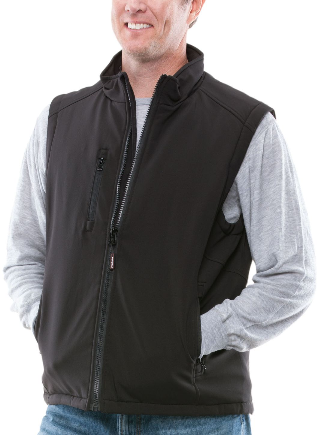 RefrigiWear 0494 Cold Weather Softshell Vest Example