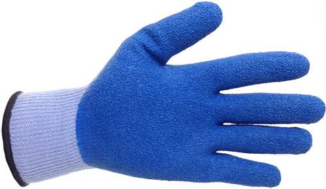 4Works HB1301 Latex Palm Glove - Front View