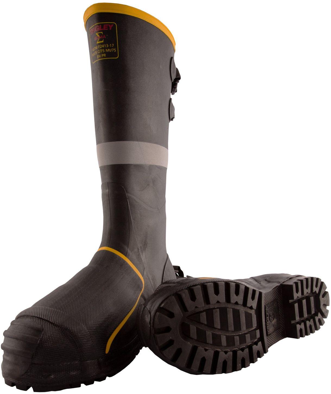 """Tingley MB816B Premium Metatarsal Rubber Boots - 16"""" Tall, Super Heavy Duty"""