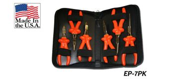 Cementex EP-7PK Long Reach Mini Pliers Set, 6PC