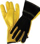 "Chicago Protective Apparel Leather Work Gloves SW-CL-10 - 10"", ATPV Rated"