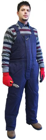 Insulated Nomex FR Bib Overalls from Workrite