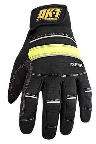 Occunomix OK-CCG400 CoolCore® Anti-Vibe Gloves w/D3O® Top