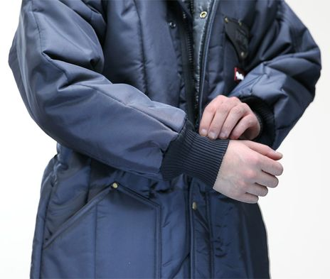 RefrigiWear Iron-Tuff Winter Work Parka 0360 - Knit Cuffs