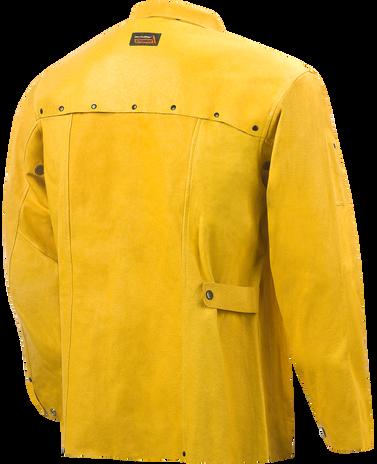 Steiner Weld-Cool Lite Leather Welding Jacket 92P6 Back