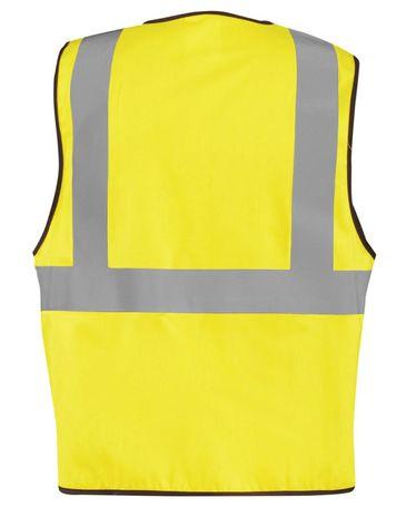 Occunomix LUX-XFR Hi-Viz Flame Resistant NON-ANSI Solid Vest Yellow Back