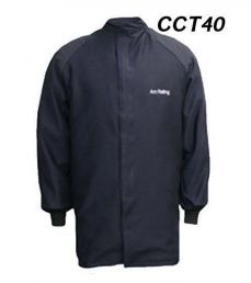 "Cementex CCT40 40 Cal ""C Series"" Indura® Ultra Soft® FR Treated Cotton Coat, HRC 4"