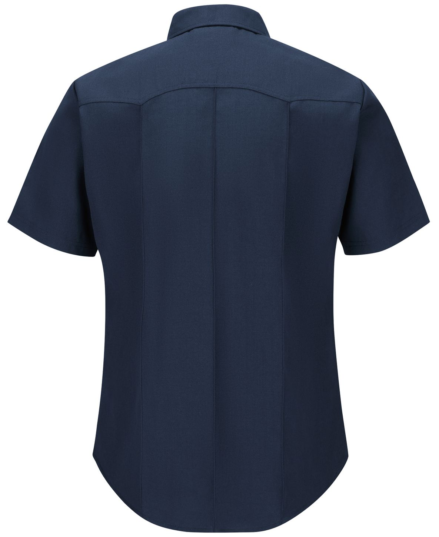 Workrite FR Firefighter Shirt FSF8, Classic Western Navy Back
