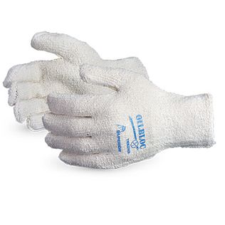 Superior TRKONB Cotton Terry Gloves with Nitrile Oilbloc Palm Lining