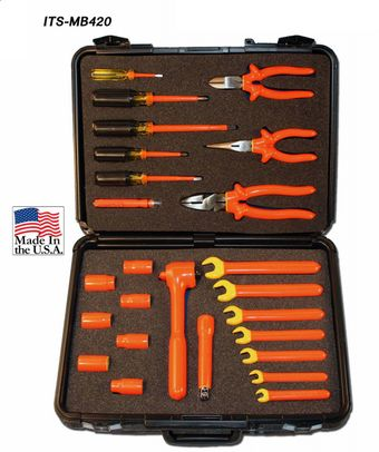 Cementex ITS-MB420 Insulated Tool Set, 24PC