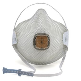 Moldex HandyStrap Respirator 2700N95 with Valve - N95 Protection White