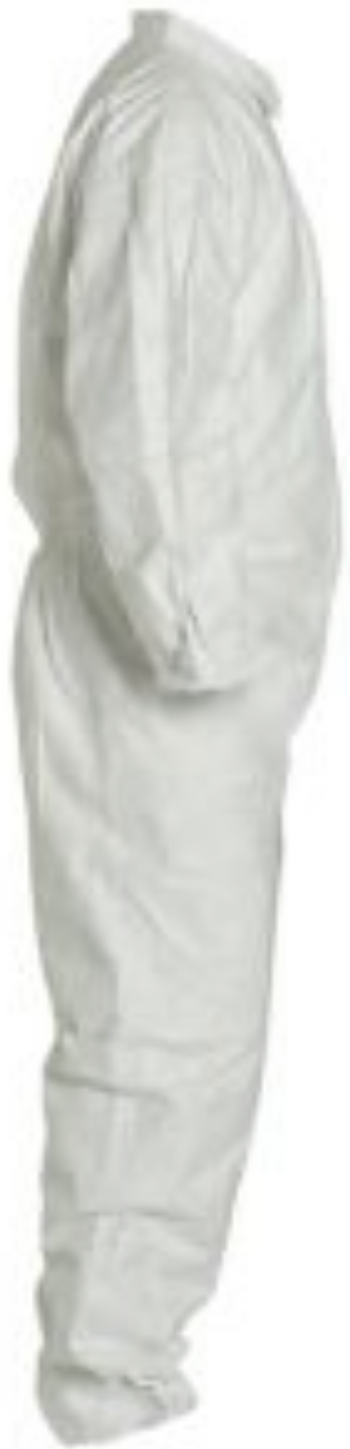 DuPont Tyvek Disposable Coverall with Elastic Wrists & Ankles - TY125SWH Right Side