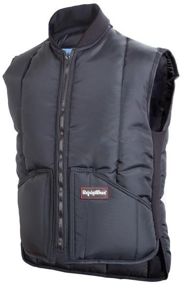 RefrigiWear Cold Weather Apparel - Iron-Tuff™ Vest 0399 - Navy