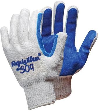 RefrigiWear Cold Weather Apparel - Palm Coated String Grip Glove 0309