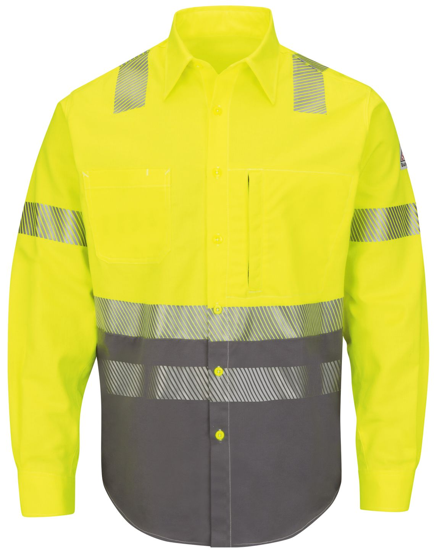 bulwark-fr-hi-visibility-shirt-slb4-color-block-uniform-yellow-green-front.jpg