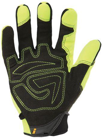 Ironclad I-VIZ™ REFLECTIVE GREEN Glove palm