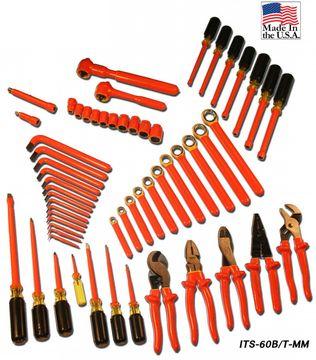 Cementex ITS-60B/T-MM Metric Super Tool Kit W/ TW
