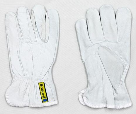 Superior Endura 378GKTA Premium Goatskin Driver Gloves - Front and Back