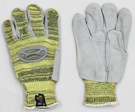 Superior Cut Resistant Kevlar Gloves SKSMLP - Front and Back