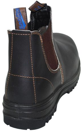 Blundstone 140 Steel Toe Work Boots - Back View