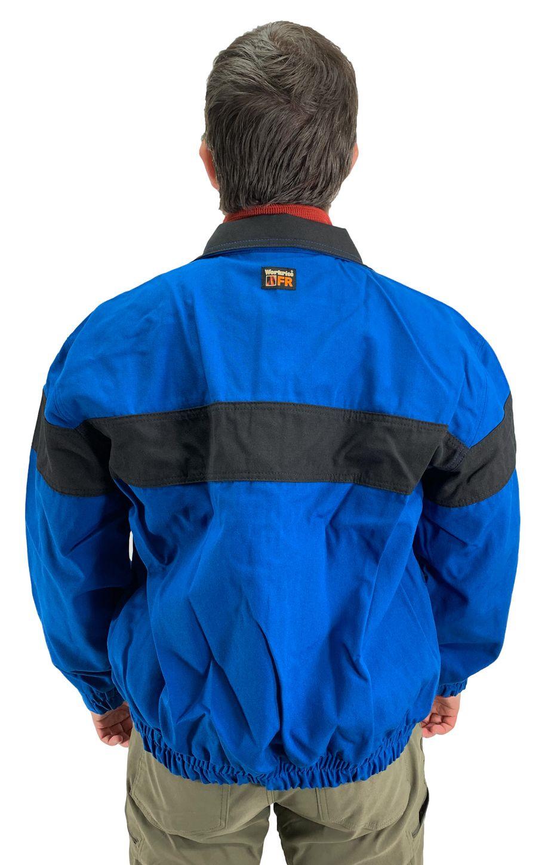 Workrite Fire Resistant Safety Jacket 300NX60/3006 - 6 oz Nomex® IIIA Royal Blue Back