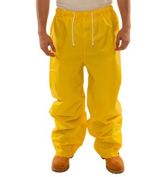 Tingley P56007 DuraScrim™ Flame Resistant Pants - PVC Coated, Chemical Resistant Front