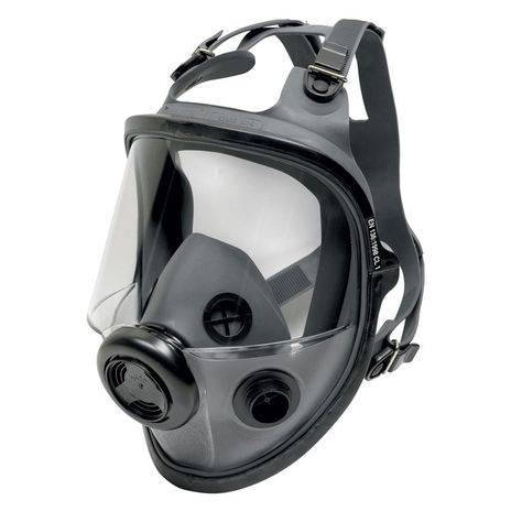 Honeywell North Safety 5400 Series Respirator Full Face Mask 54001 Economical Elastomeric Side