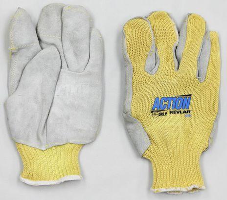Superior Kevlar Cut Resistant Gloves SKLPSMT - Front and Back
